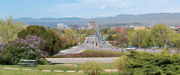 Boise - photo by Hinsel